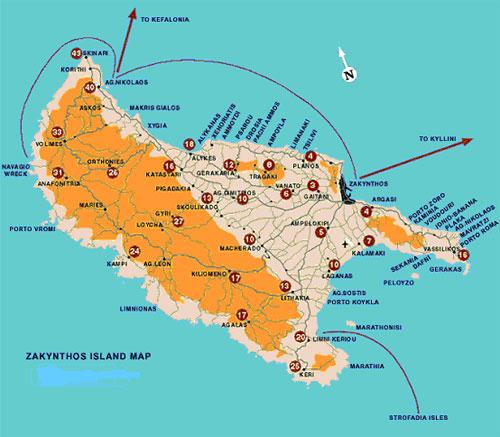 Mabely Grand Hotel Exo Hora öböl Zante Beaches Guide
